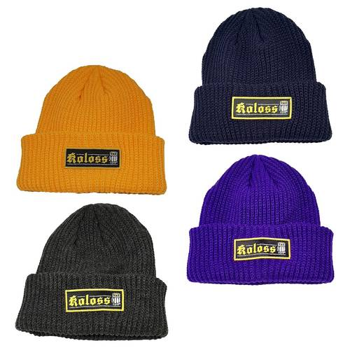 Humpen Beanie Coarse Knitted