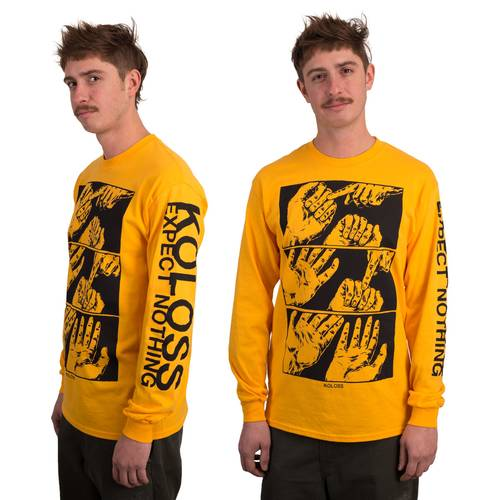 Expect Nothing Longsleeve Gold