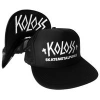 SkateMetalPunks Flip Cap Black