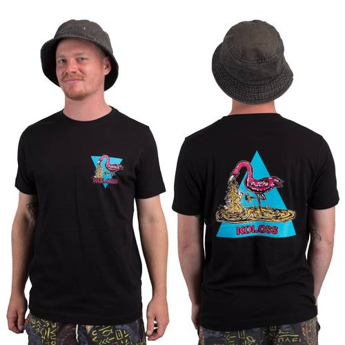 Kotze Flamingo T-Shirt Black L