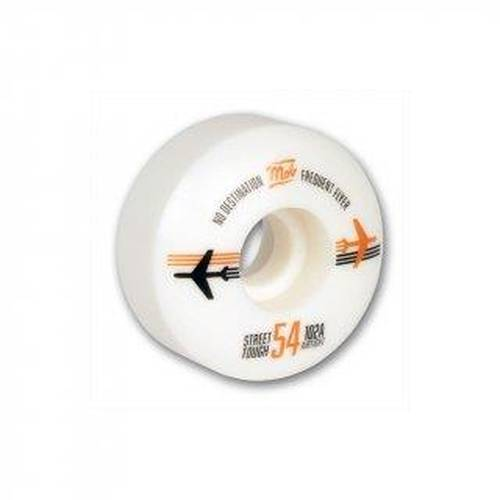 Fly Wheels White 102A 54mm