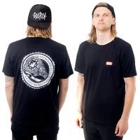 Telum Skateboard Elite T-Shirt Black