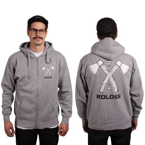 Axt Zipper Grey
