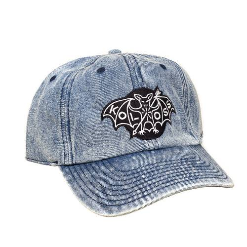 Fledermaus Dad Cap Clear Washed Denim
