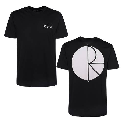 Polar Fill Logo Tee Black