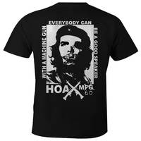 Che Machine Gun T-Shirt Black