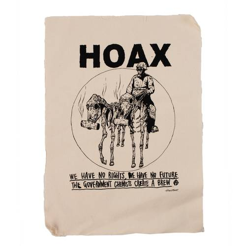 Hoax Nuclear Reign Backpatch Cotton