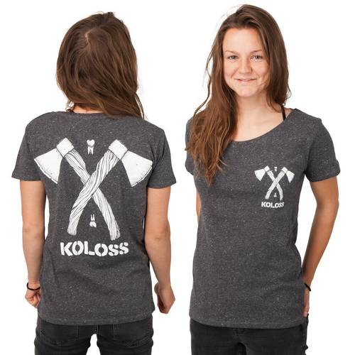 Axt Girl Shirt Dark Heather