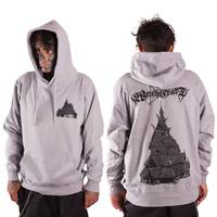 Stave Church Hoodie Grey