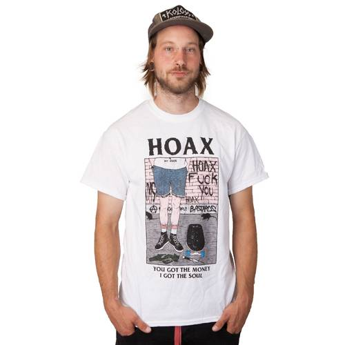 Hoax My Rules T-Shirt White M