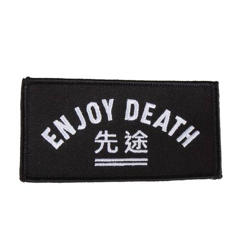 WSDT Enjoy Death gestickter Patch