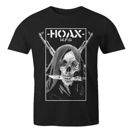 Hoax WAR T-Shirt Black