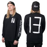 Car 13 Watch Longsleeve Black
