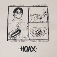 Hoax Air, Water, Food, Drugs Backpatch Cotton