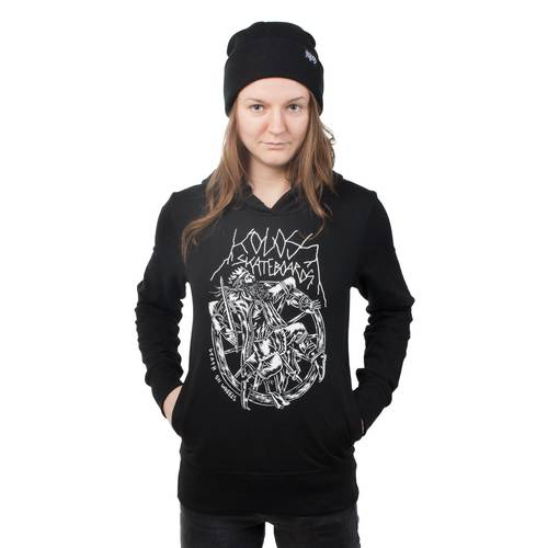 KOLOSS Death on Wheels Girls Hoodie Black