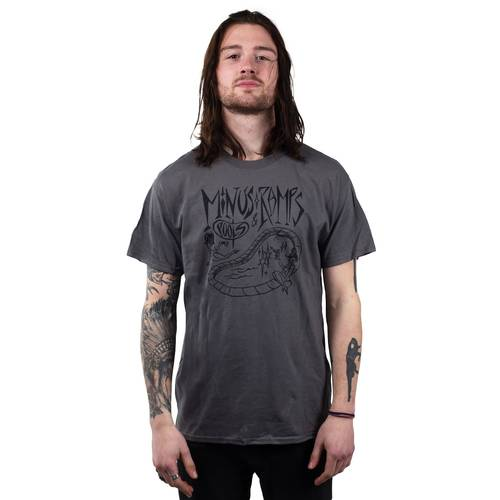 Minus Ramps Pools T-Shirt Darkgrey