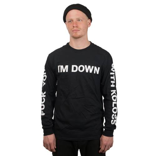 Down Longsleeve Black