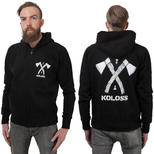 Axt Zipper Black