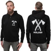 KOLOSS Axt Zipper Black S