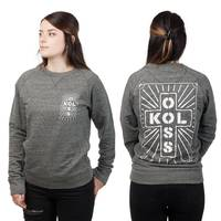 KOLOSS Verstrahlung Girls Sweater Steel Grey M