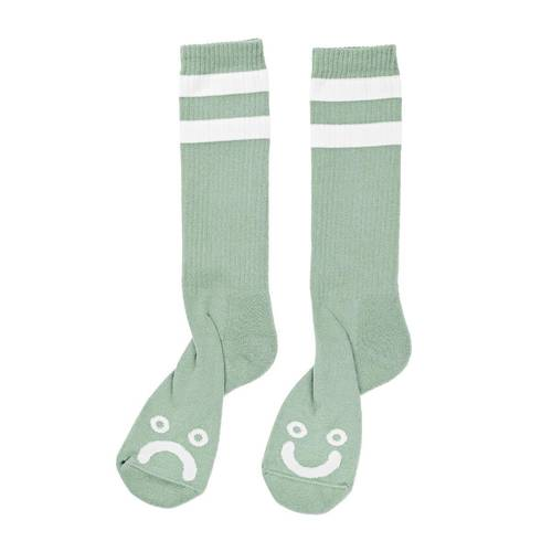 Polar Happy/Sad Socken Seafoam Green