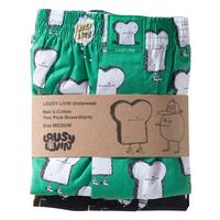 Lousy Livin Toast & Zitrone Boxershorts Double Plack