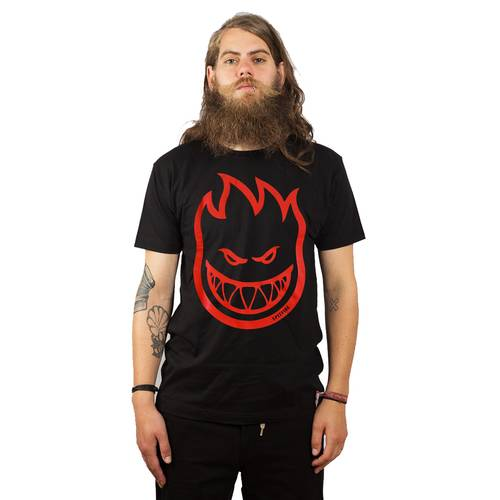 Spitfire Flamehead T-Shirt black